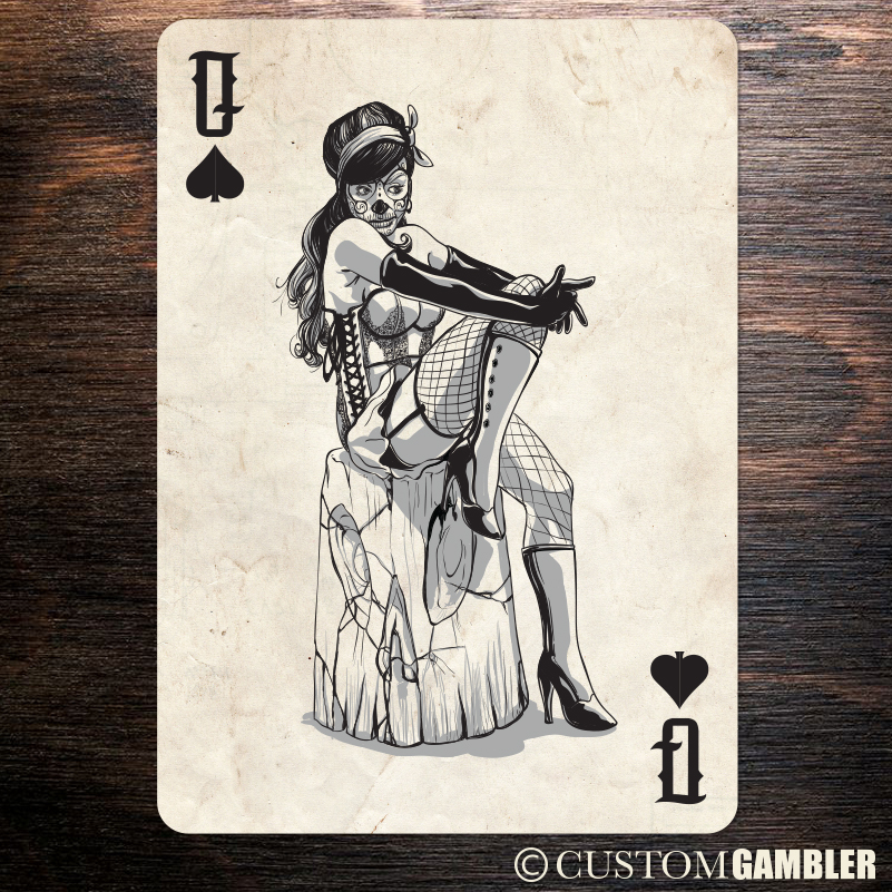 bombshell queen of spades